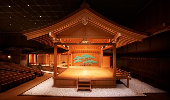 国立能楽堂(舞台)